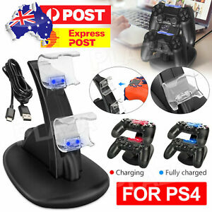 For Playstation 4 PS4 Controller Charger Dock Stand Charging Station Dualshock