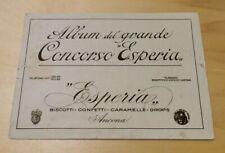Album del grande concorso Esperia rarissimo originale completo ( -2 figurine)
