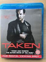 Taken Blu-ray Original 2008 Action Thriller Movie w/ Liam Neeson Rental Version