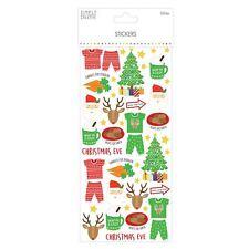 Premium Simply Creative Christmas Glitter Craft Stickers - The Night Before