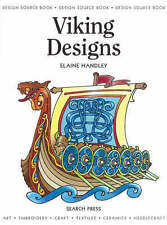Design Source Book 16 Viking Designs Elaine Handley Search Press Colouring