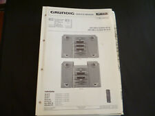 ORIGINALI service manual Grundig m30 m30-r