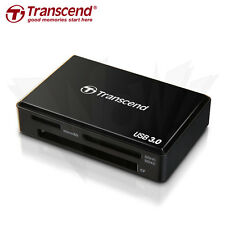 Transcend USB 3.0 Multi-Card Reader SD/SDHC/SDXC/MS/CF Cards (TS-RDF8K) Negro