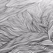 Scandinavian tessuto resti nero e bianco tessuto di cotone vintage retrò minimalismo