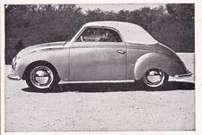 Dyna-Veritas Cabriolet * Orig. Sammelbild * 1951 ***
