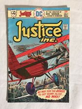 Justice Inc #4 FN+ Jack Kirby, Kubert, The Avenger