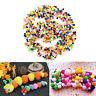 1000 Pcs DIY Mixed Color Mini Soft Fluffy Pom Poms Pompoms Ball 10mm ES