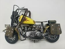 Vintage Handmade Motorcycle Model Toy Diecast Crafts Bar Dining Room Decoration