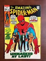Amazing Spider-Man #87 (1970) 6.5 FN Marvel Key Issue Comic Bronze Age Stan Lee