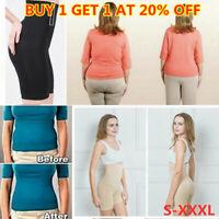 Women Body Control Shaper Girdle High Waist Shorts Slim Lift Shape Pants S-XXXL