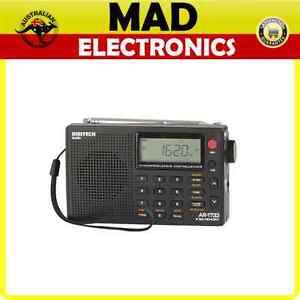 Digitech PLL World Band Radio, FM, AM(MW 9k or 10k steps), SW, LW, AIR bands
