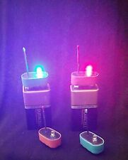 Color-Coded Micro Static Detectors Pos & Neg Paranormal Ghost Hunting Equipment
