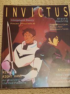 Used Voltron Magazine Volume 2 Fanzine