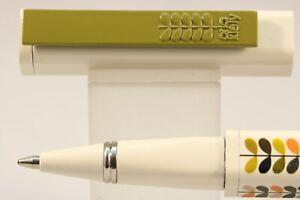 Orla Kiely Multi Stem Ballpoint Pen, Cased, Instructions, Refill
