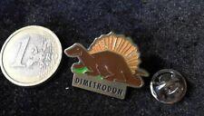 Prehistoric Dino pin badge dimetrodon