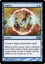 Negate X4    EX/NM   M14  Core Set  MTG Magic Cards Blue Common