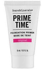 bare Minerals PRIME TIME Original Foundation Primer 15ml Travel Size Genuine New