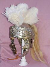 Life size Roman Officer Helmet Armor White Plume Legate Tribune Prefect Consul