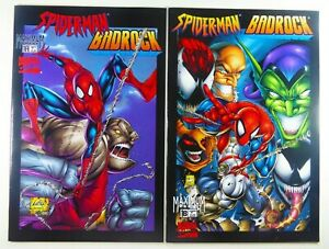 MARVEL-Maximum SPIDER-MAN / BADROCK (1997) #1 Cover A + Cover B LOT Ships FREE!