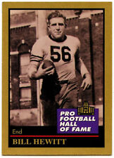 Bill Hewitt #64 Enor Pro Football H.OF 1991 American Football Card (C561)
