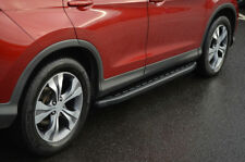 Black Aluminium Side Steps bars Running Boards to fit Honda CR-V (2012+)