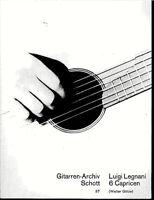 """"""" 6 Capricien """"  von Luigi Legani"""