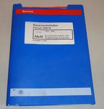 Werkstatthandbuch VW Passat B5 Diesel Direkt Einspritz Vorglühanlage 6 Zyl.1999