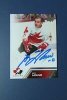 GUY LAFLEUR   2013 UDC  # 129  AUTO SIGNED  Montreal Canadiens  TEAM CANADA 1976