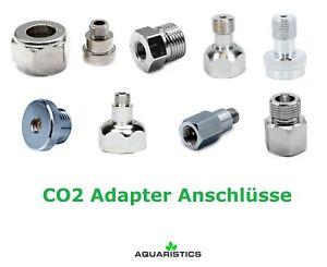 CO2 Adapter - Anschlüsse Mehrweg/Einweg Dennerle/JBL/Sodastream