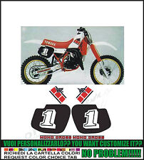 kit adesivi stickers compatibili  yz 1985