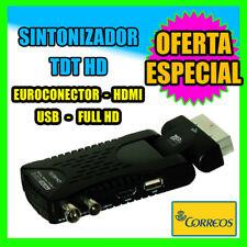 Sintonizador TDT HD HDMI Receptor TDT HD Easy Home DVB-T HD DUAL USB MULTIMEDIA