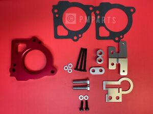 Throttle Body Spacer for 03-07 Jeep Grand Cherokee 4.7L V8 (Red)