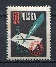 35662) POLAND 1958 MNH** Stamp Day 1v Scott# 820