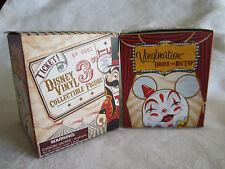 "Disney Vinylmation 3"" Figure Under the Big Top 2 Unopened Sealed Blind Boxes"