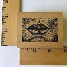 JudiKins Rubber Stamps - Lush Lips 2507F - NEW