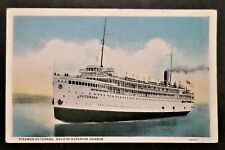 ss Octorara. Great Lake Transit Company. Steamship. Vessel. Transportation. Boat