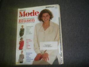 SABRINA Moden Spezial Heft S 733 mit Schnittmusterbg. ähnlich Burda