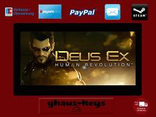 Deus Ex Human Revolution Steam Key Pc Game Download Code Neu