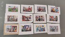 Nouveauté 2020 Série 12 timbres oblitérés -Carnet Tous engagés