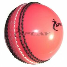 Cricket Ball - Pink incrediball incredi training coaching practise swing stitch