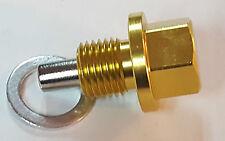 HONDA M14x1.5 MAGNETICO COPPA DELL'OLIO TAPPO di scarico dell'olio ACCORD CRX Civic Integra S2000 GOLD