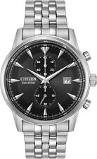 Citizen CA7000-55E Men's Eco-Drive Corso Stainless Steel Chronograph Watch