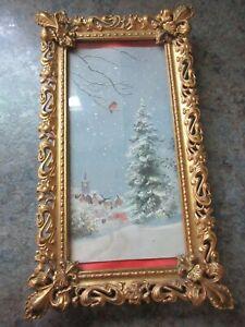 Antique Ornate Picture Frame Pat. Sept 14, 1897