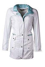 CONCEPT K Jacke NEU 38 Regenjacke Mantel Damenjacke weiß mint apart 170223