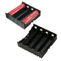 DIY Storage Box Holder 4 Slots Battery Case For 4 x 18650 Rechargeable Battery