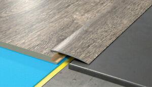 60x1000mm Self-adhesive Aluminium Wood Effect Door Edging Floor Trim Threshold