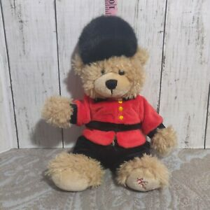 Hamleys of London plush tower guard beefeater teddy bear queen royal palace A