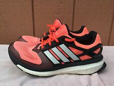 Adidas Energy Boost 2m Mens Running Coral Red Black US SZ 7 EUR 40
