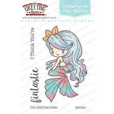 MAISEA MERMAID-The Greeting Farm Clear Photopolymer Stamp-Stamping Craft-Anya