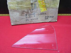 1961 1962 CHEVROLET BELAIR BISCAYNE PONTIAC SEDAN VENT WINDOW GLASS CLEAR NOS GM